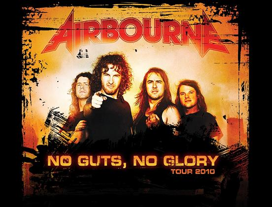 Airbourne Tour 2010