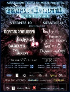 Temple of Metal Festival